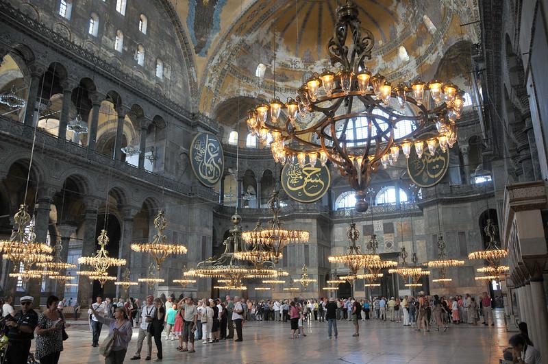 Hagia Sophia becomes a Mosque again