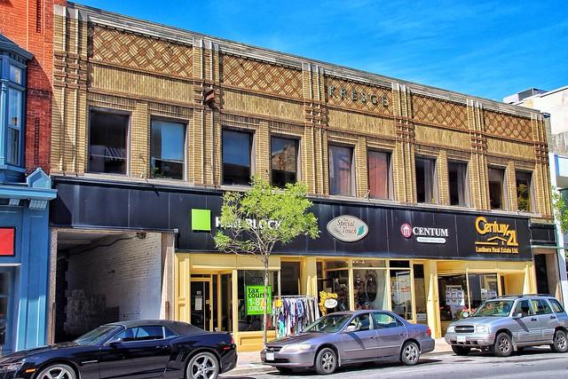 Belleville Ontario Canada - S.S. Kresge - 264 Front Street - Facade