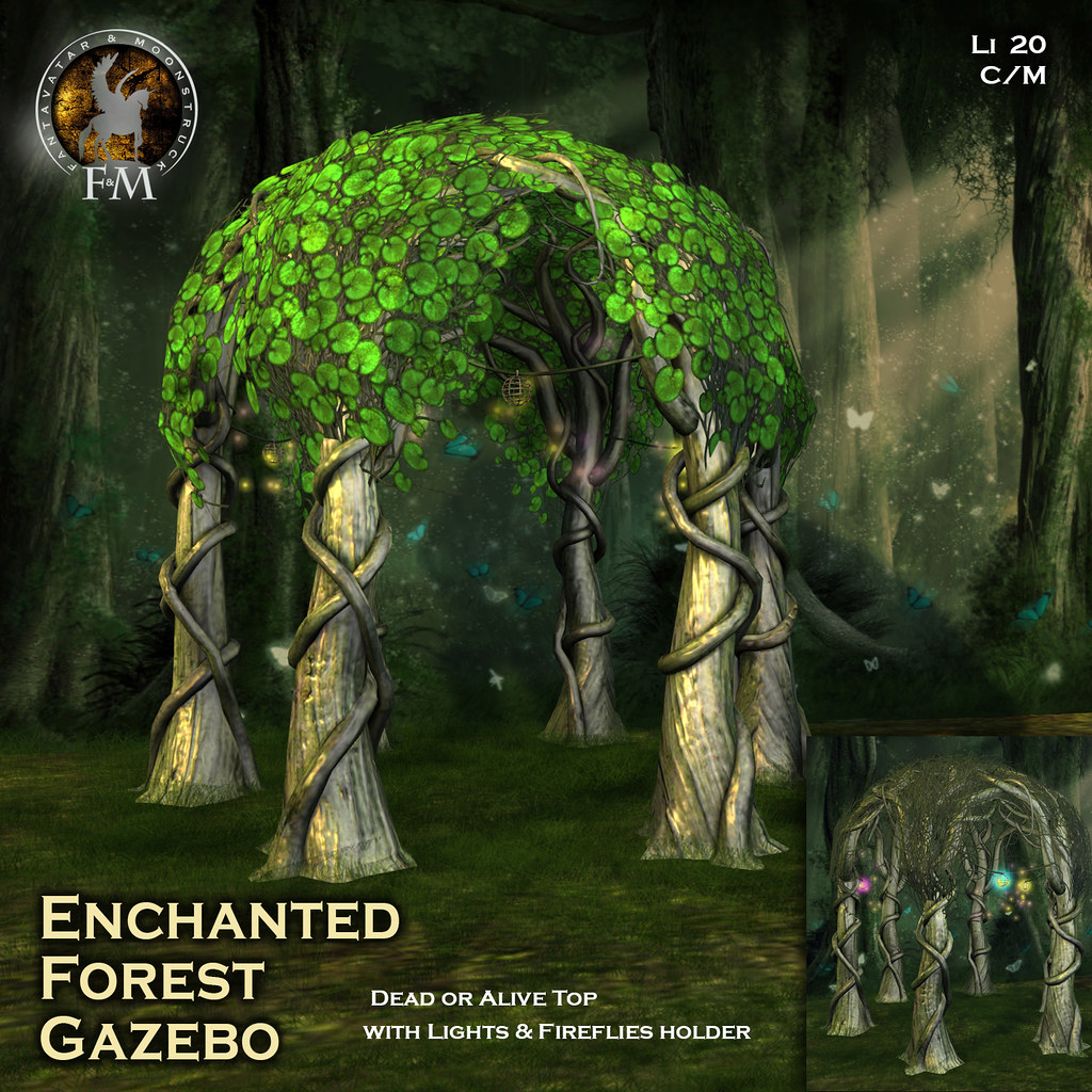 F&M Enchanted Forest Gazebo @ Midsummer Enchantment Event