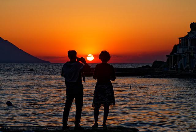 Klima on Milos island - Sunset