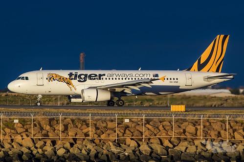 mascot newsouthwales australia tigerair tiger tt gocat tiggoz airbus a320 syd yssy sydneyairport