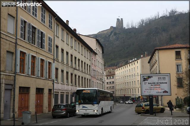 Irisbus Crossway – VFD (Voies Ferrées du Dauphiné) (CFTR, Compagnie Française des Transports Régionaux) / L'va (Lignes de Vienne Agglomération) n°610