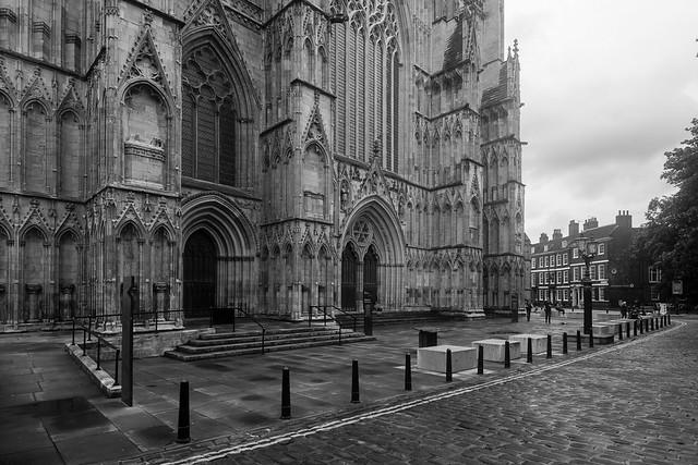 No visitors at The Minster..... strange sight!