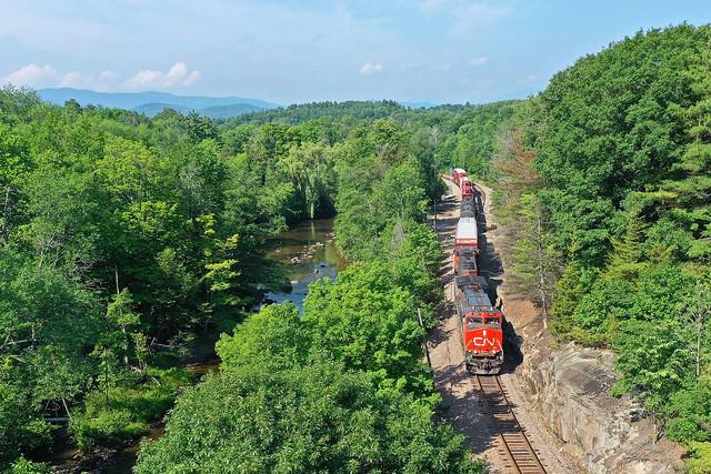 Rails Through the Adirondacks