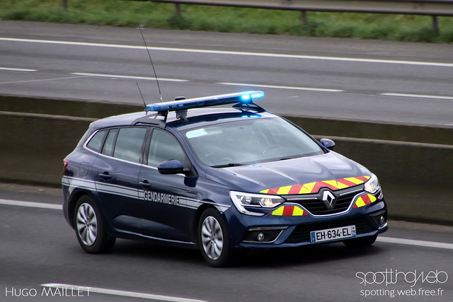 Gendarmerie   Renault Mégane Estate