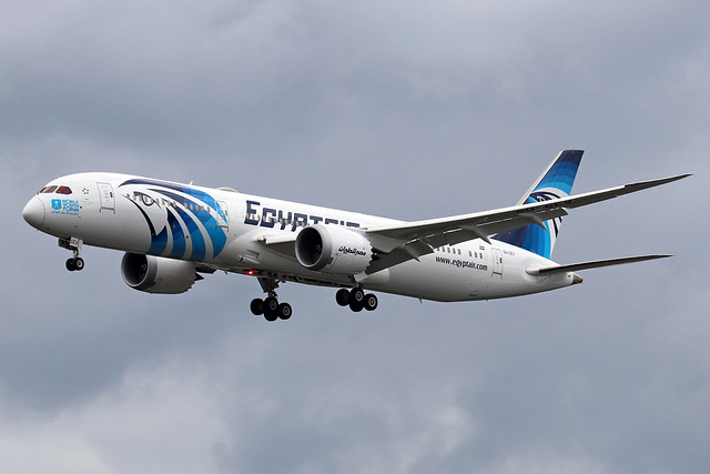 SU-GEV  -  Boeing 787-9 Dreamliner  -  Egypt Air  -  LHR/EGLL 10-7-20