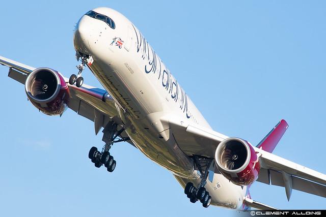 Virgin Atlantic Airways Airbus A350-1041 cn 415 F-WZNY // G-VRNB