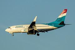 LX-LBR | Luxair | Boeing B737-7K2(WL) | CN 30366 | Built 2008 | MAD/LEMD 26/09/2019 | ex PH-BGD