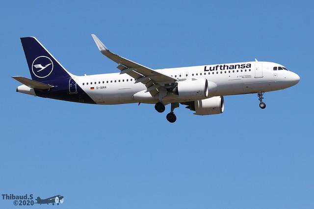 Airbus A320 -271N LUFTHANSA D-AINX 9251 Francfort juin 2020