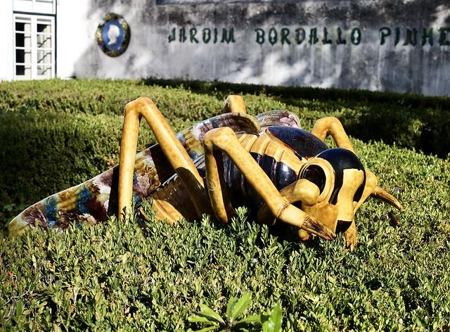 Grasshopper - Piece based on the design developed by Rafael Bordallo Pinheiro (1846-1905)