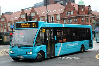 Arriva North East: 2845 / YJ58 CAU