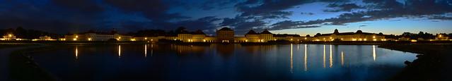 Munich - Nymphenburg Palace Panorama