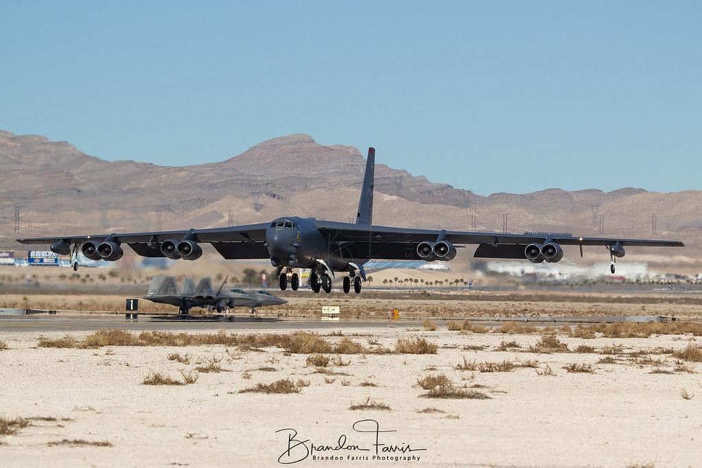 60-0062 USAF Boeing B-52H Stratofortress