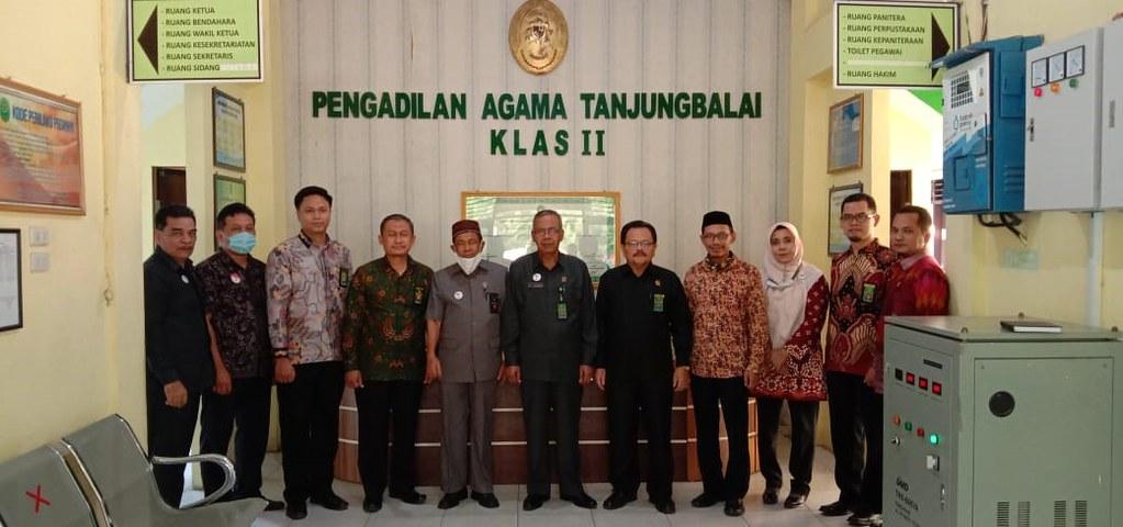 Pembinaan Ketua PTA Medan Pada Pengadilan Agama Tanjungbalai   (11/8)