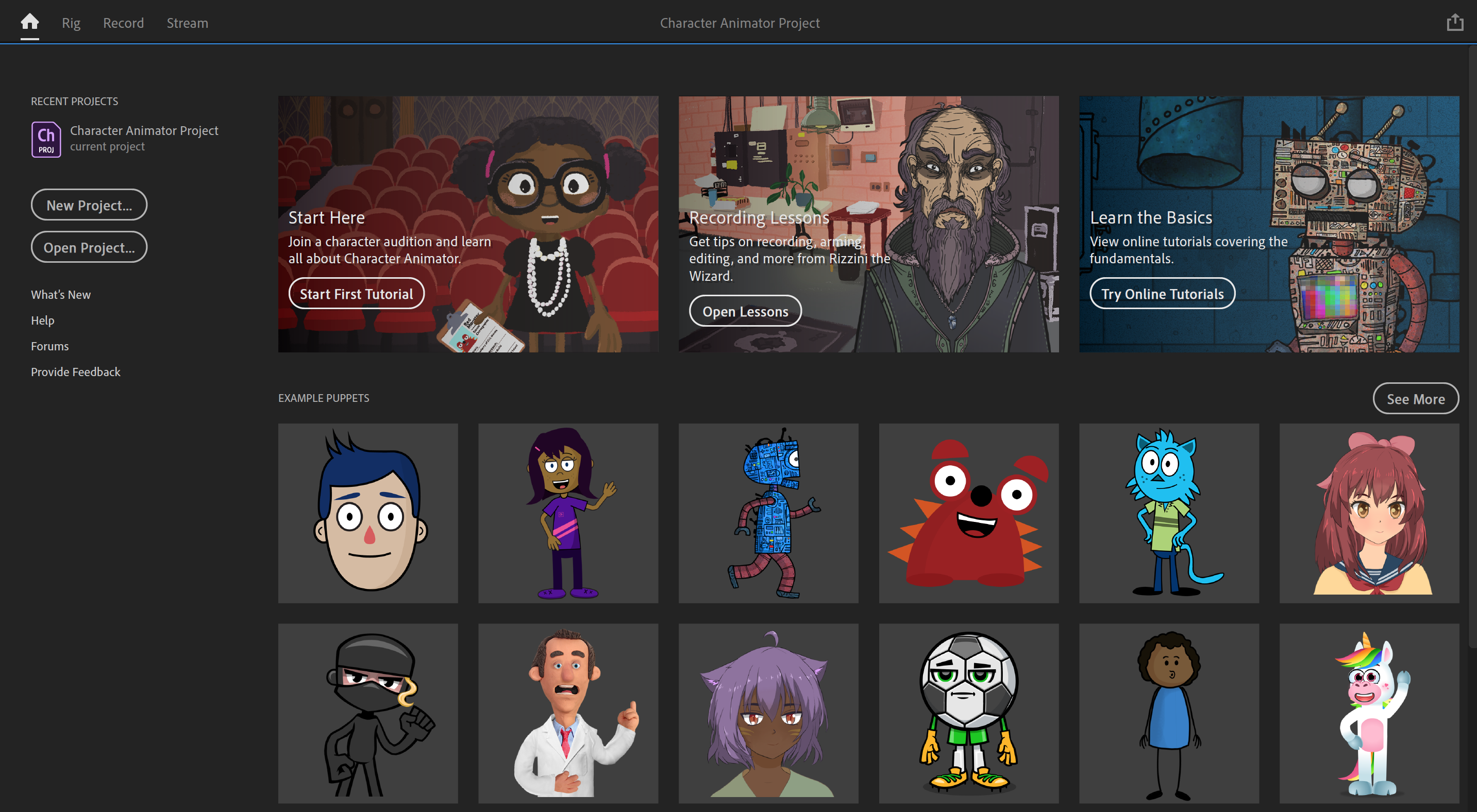 Working with Adobe Character Animator 2020 v3.3.1.6 full