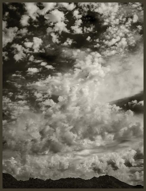 Santa Catalinas #1 2020; Mountains & Sky