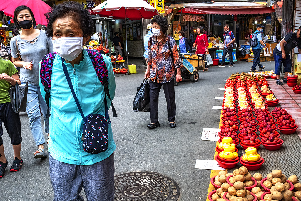 Bujeon Market on 7-11-20--Busan 2
