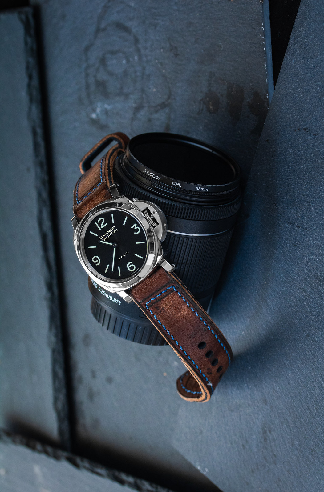 Panerai Luminor Leather strap brown