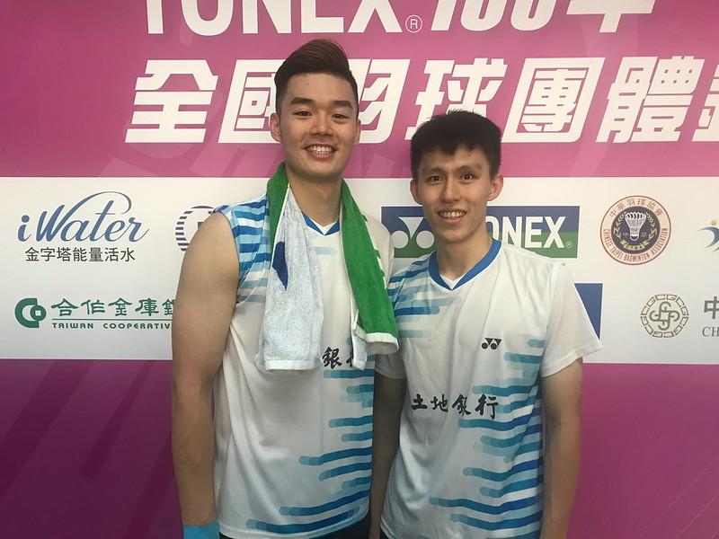 王齊麟(左)、李芳任。(記者毛琬婷/攝)