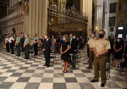 Misa por por los fallecidos en la región víctimas de la COVID