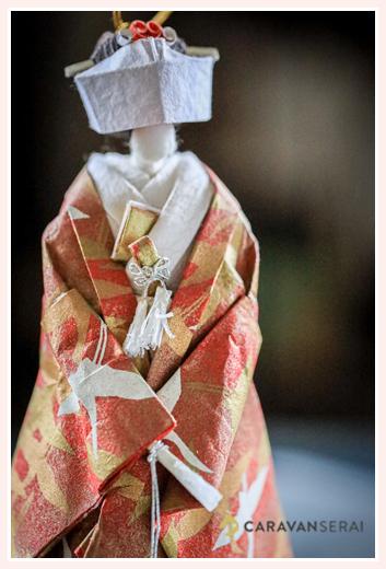 花嫁 | 紙人形作家、故「荻原敏子」氏の作品
