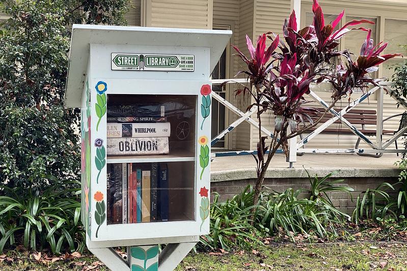 Street library. Hunters Hill walk