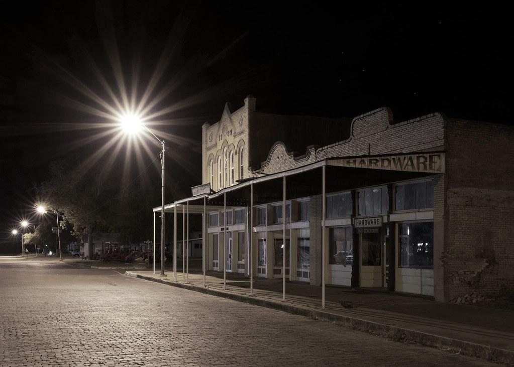 Rustic hardware store. Granger, Texas. USA