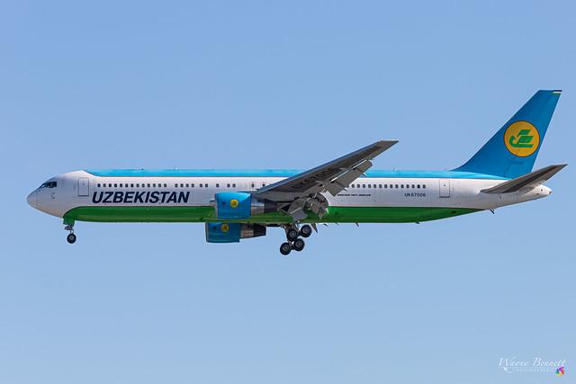 Uzbekistan 767-300 UK67006 LHR 2020-07-07