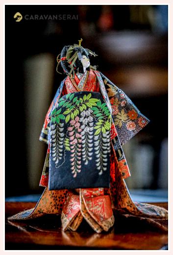 花魁 | 紙人形作家、故「荻原敏子」氏の作品