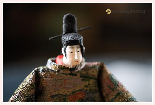 源氏物語・光源氏 | 紙人形作家、故「荻原敏子」氏の作品