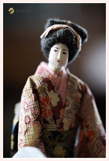 小町、町の娘 | 紙人形作家、故「荻原敏子」氏の作品