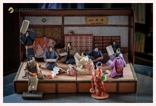 呉服屋 | 紙人形作家、故「荻原敏子」氏の作品