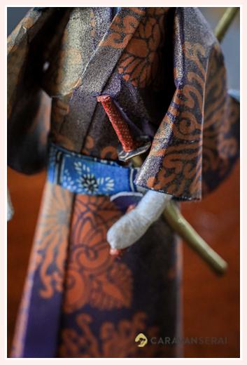 侍の刀 | 紙人形作家、故「荻原敏子」氏の作品