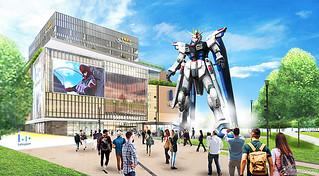 2021年就有自由!中國上海將設置《機動戰士鋼彈SEED》主角機「實物大自由鋼彈立像」