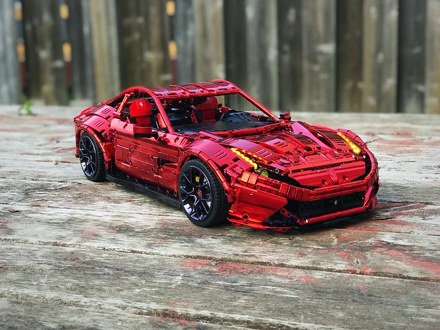 Ferrari F12 in wild red chrome by Bubul @revaidonat - check it @loxlego
