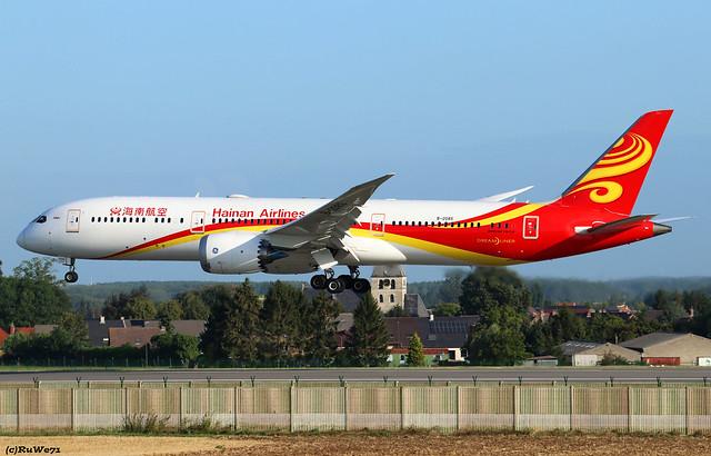 Hainan Airlines Boeing 787-9 Dreamliner B-208S