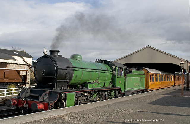LNER Class D49 No 246 Bo'ness Station on 23rd February 2009