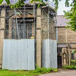 Repair work at St Michael and All Angels with St Marks Church Preston