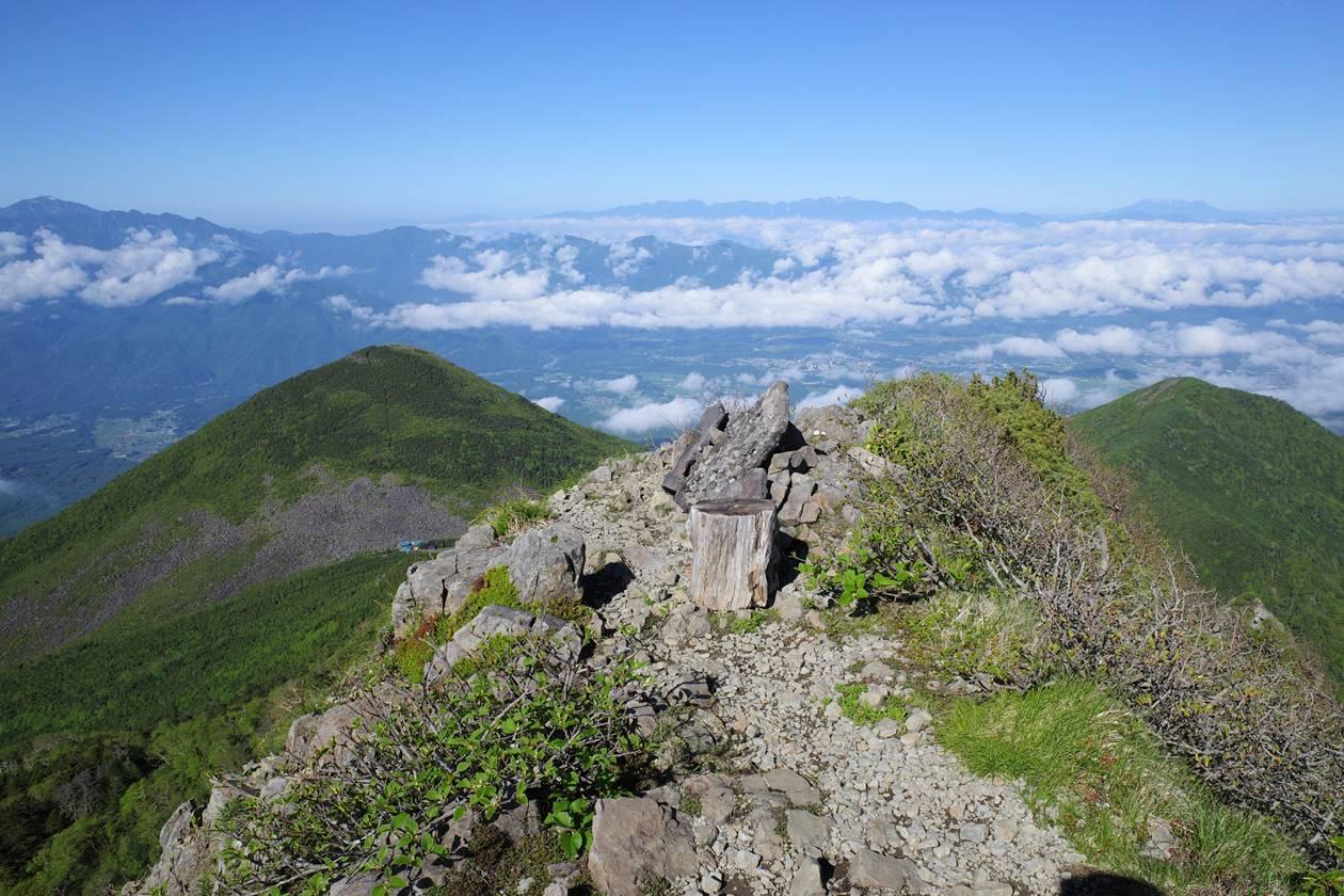 八ヶ岳・ギボシ山頂