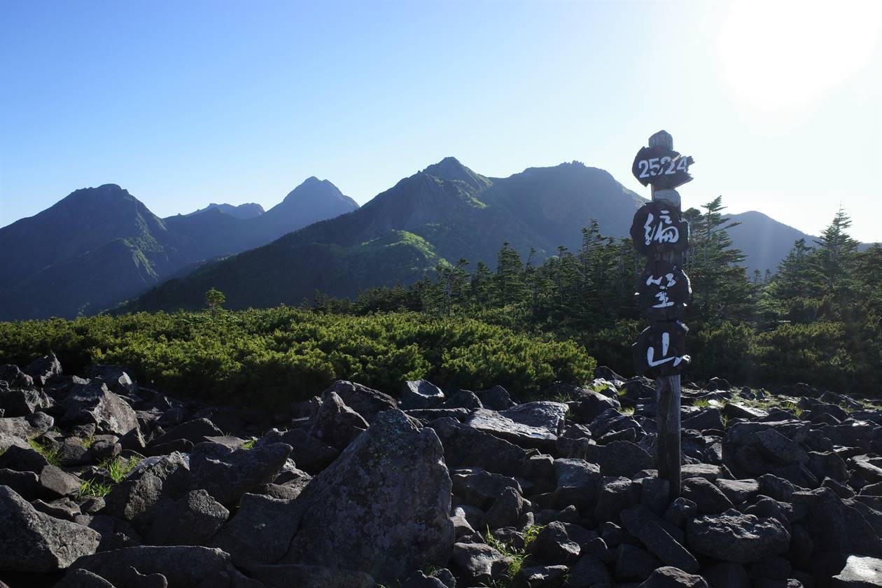 八ヶ岳・編笠山山頂