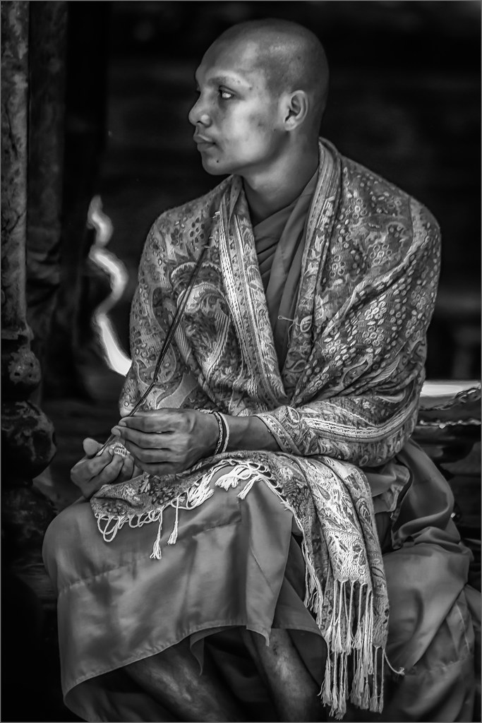 Cambodian Monk #2