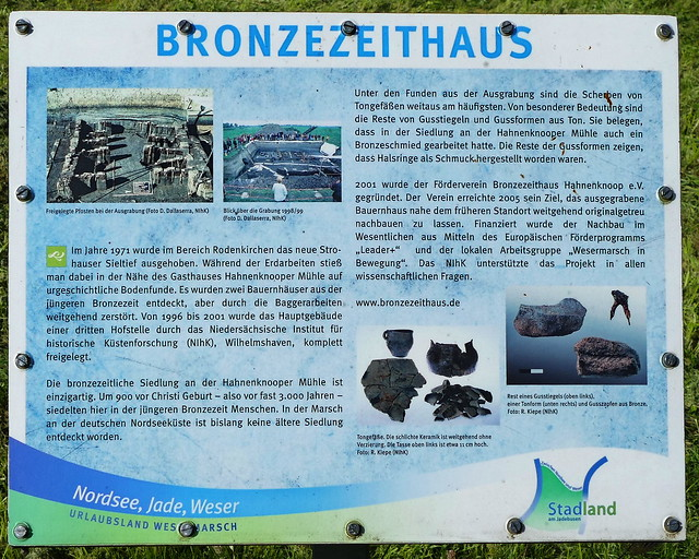 Bronzezeithaus bei Hartwarderwurp