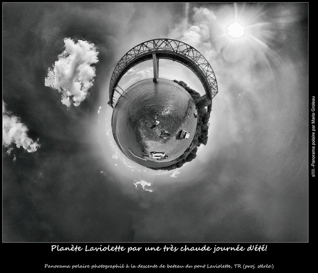 Planète Laviolette par une très chaude journée d'été! Small planet during a warm summer afternoon
