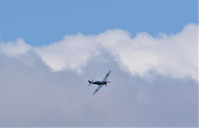 NHS Spitfire G-PRXI (9) @ LCY 10-07-20
