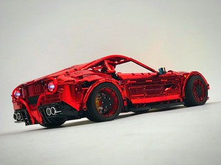Ferrari F12 in wild red chrome by Bubul @revaidonat - check it @loxlego