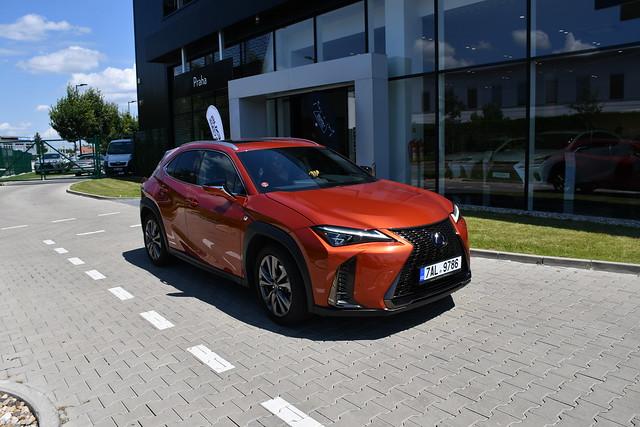 Lexus convertible Praha