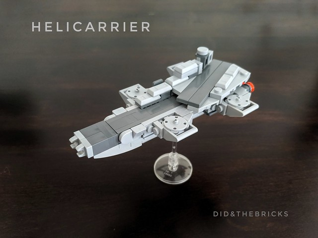 SHIELD HELICARRIER micro model