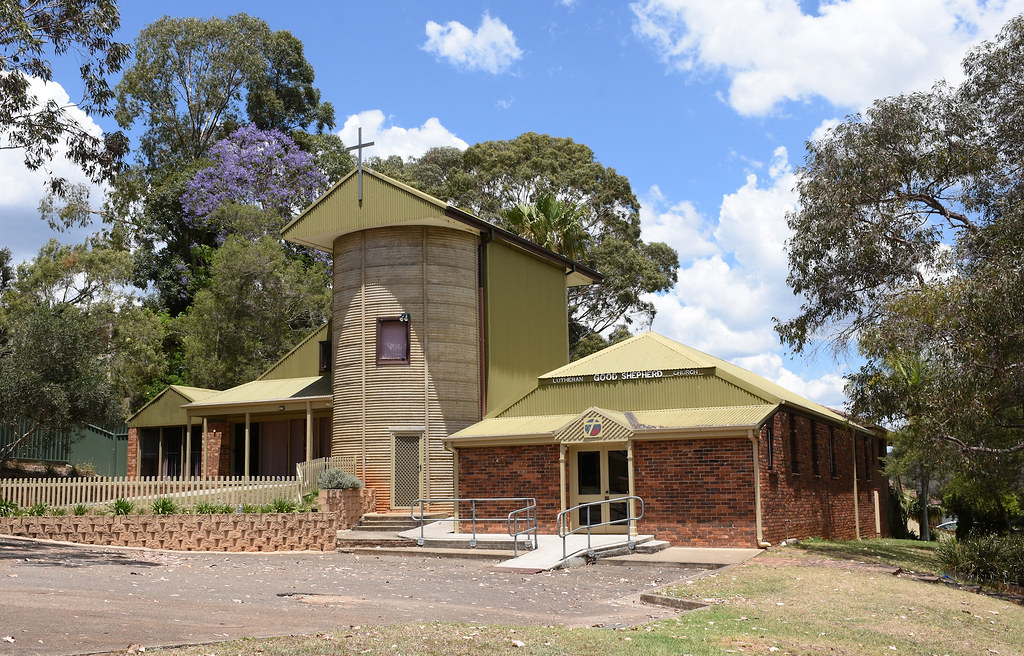 Lutheran Good Shepherd Church, Eschol Park, Sydney, NSW.