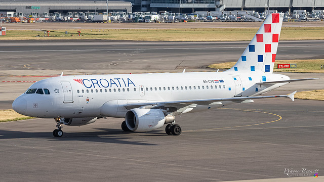 Croatia A319 9A-CTG LHR 2020-07-06