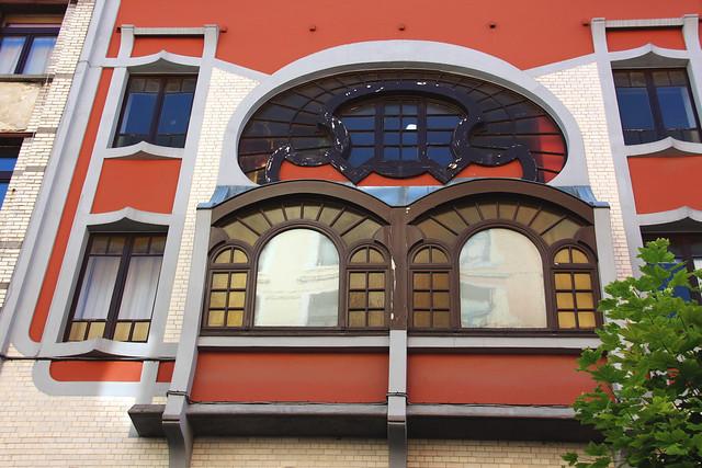 BRUXELLES - Art nouveau / Arch. Michel Mayeres